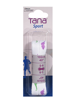 tana laces flat assortment pack 40 dino